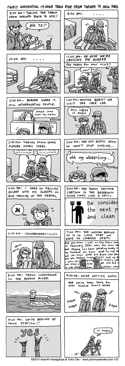 157 - hourly comics: may 11th 2010