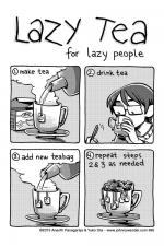 395 - lazy tea for lazy people